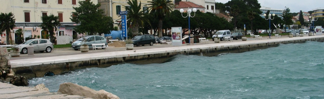 Uređenje obale Biograd